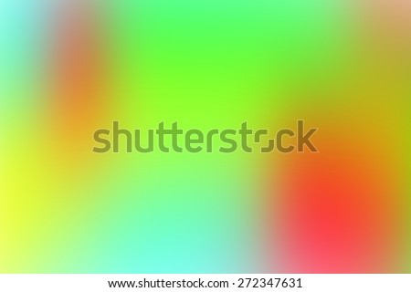 green smooth abstract colorful background with beautiful gradient - stock photo