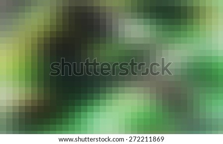 green smooth abstract colorful background with beautiful square pattern texture mosaic filter  - stock photo