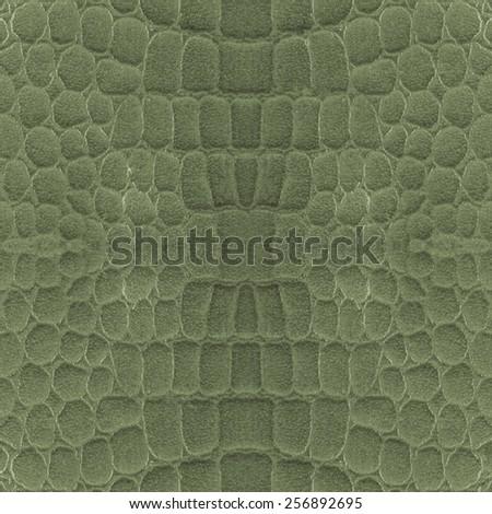 green snake skin texture.  - stock photo