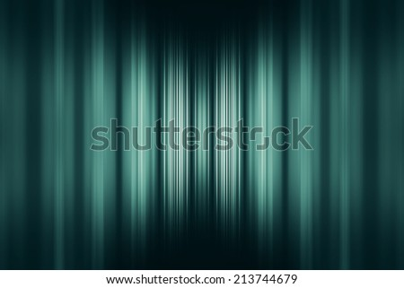 Green speed blur background with centre highlight - stock photo