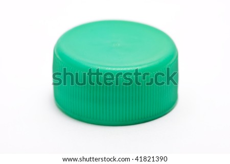 Green stopper - stock photo