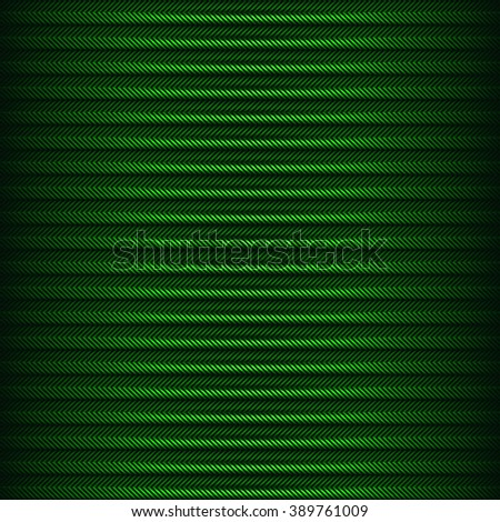 Green striped background. - stock photo