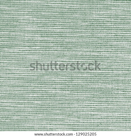 Green striped fabric texture for background usage - stock photo