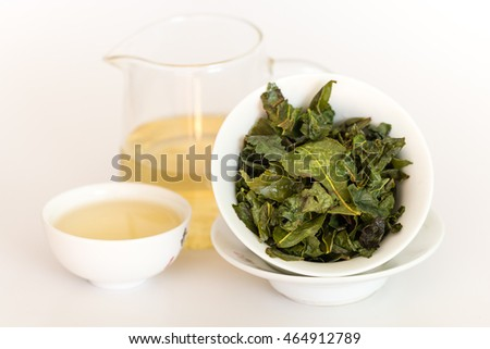 Green tea oolong  is a source of health and energy