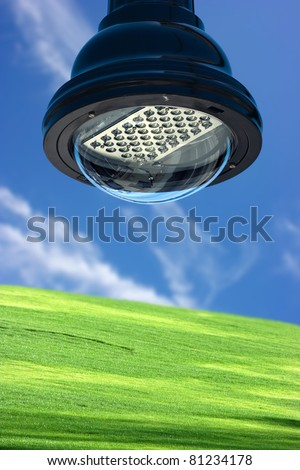 Green technology - stock photo