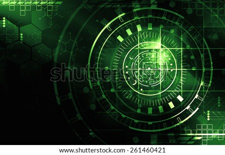 Green technology Background - stock photo