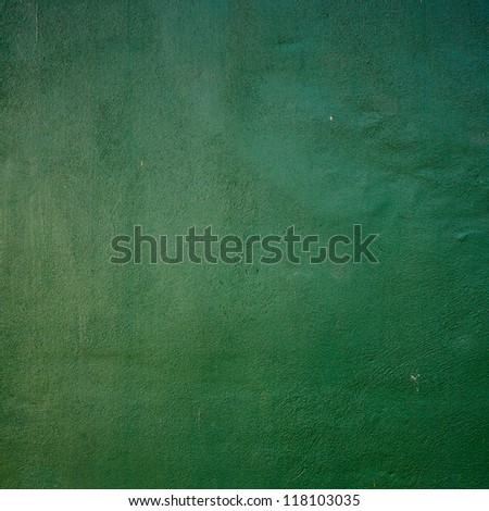 Green Tennis Court surface - stock photo