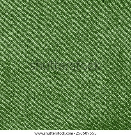 green textile texture. Useful as background - stock photo