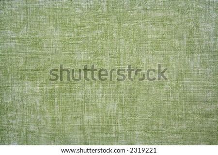 Green texture of some rough and painted material. - stock photo