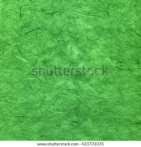 Green textured paper - stock photo