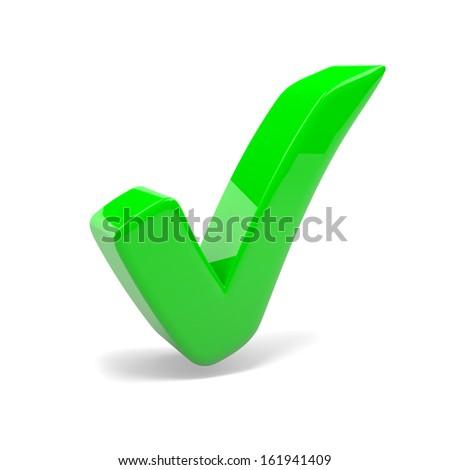 Images Green Tick Green Tick Mark on White