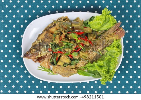tilapia baked in thai green curry recipes dishmaps baked in thai green ...