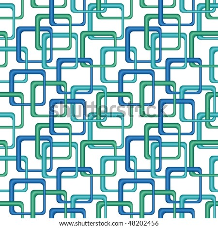 Green tiles. Seamless pattern