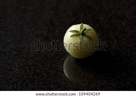 Green Tomato - stock photo