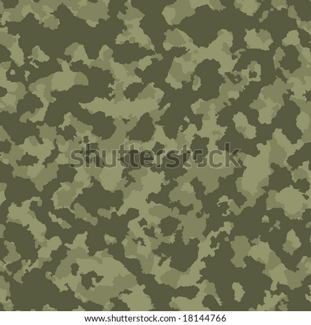Green tones military camouflage - stock photo