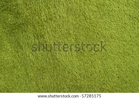 Green Towel Background - stock photo
