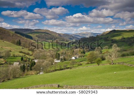 Green Valley in the English Lake District
