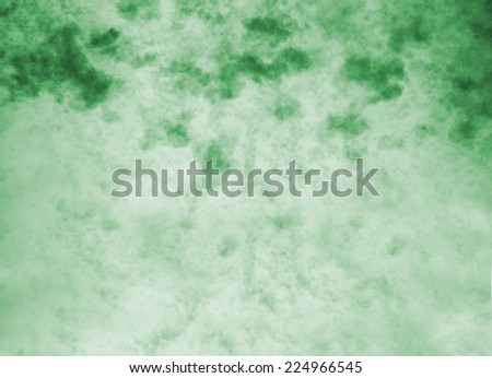 Green vintage abstract nature sky with clouds background - stock photo