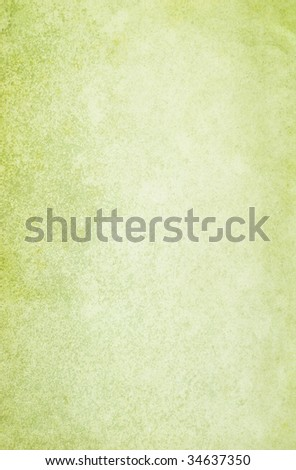 Green vintage background. Canvas texture. Copy-space. - stock photo