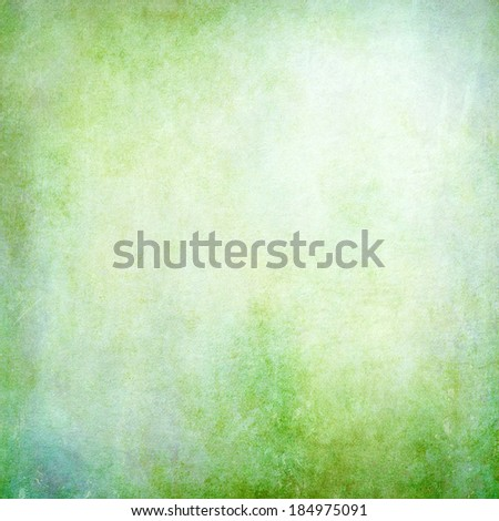 Green vintage light background