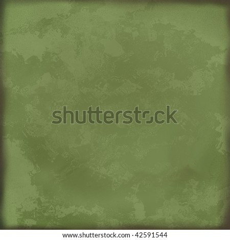 Green vintage paper or background - stock photo