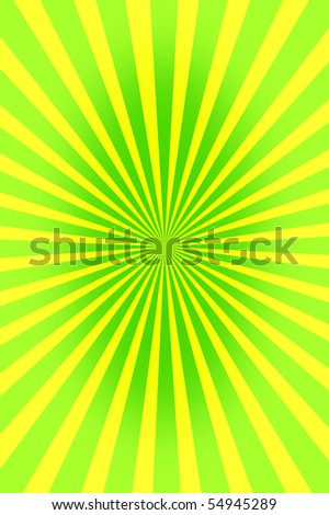 green wallpaper illustration with geometric stripes and rays