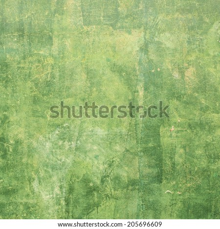 Green Walls - stock photo