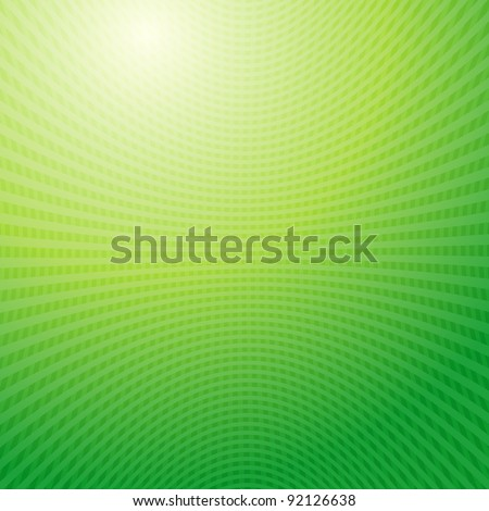 green waves Grid abstract light background raster. Vector copy search in my portfolio - stock photo