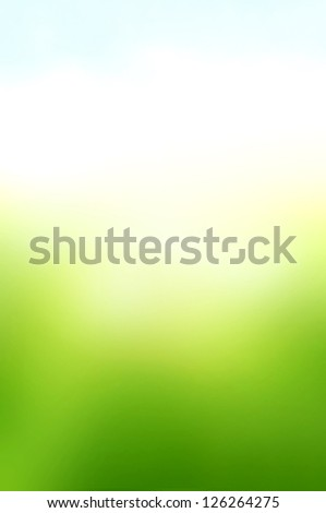 Green white and blue abstract background - stock photo