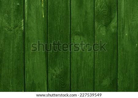 Green Wood Background./ Green Wood Background. - stock photo