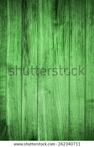 Green Wood Background or Texture/ Green Wood - stock photo