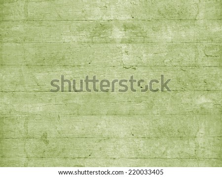 Green wooden planks - stock photo