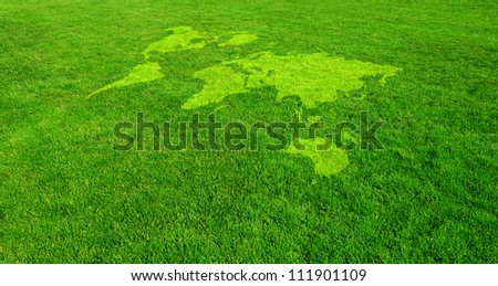 Green World - stock photo