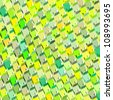 green yellow abstract pattern surface backdrop - stock photo