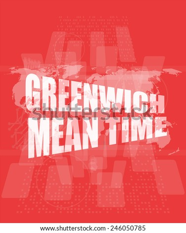how to find greenwich mean time