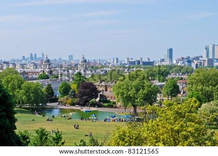 Greenwich park, London - stock photo
