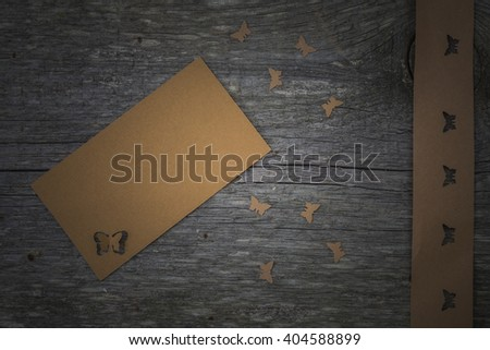 greeting card - stock photo