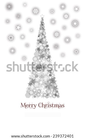 Greeting card background - stock photo