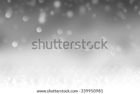 Grey abstract Christmas background - stock photo