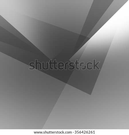 grey abstract modern background geometric shapes grid pattern - stock photo