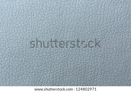 Grey Artificial Leather Background Texture Close-Up - stock photo