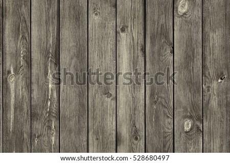 Grey Barn Wooden Wall Planking Texture Stock Photo