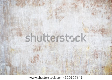 Grey blank grunge wall background texture - stock photo