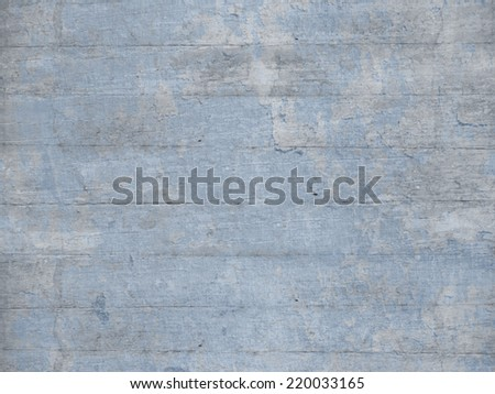 Grey blue wooden panels - stock photo