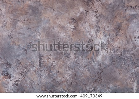 Grey, brown stone, concrete background pattern with high resolution. Top view Copy space - stock photo