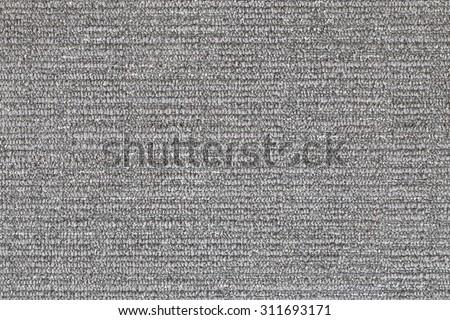 Grey carpet closeup - stock photo