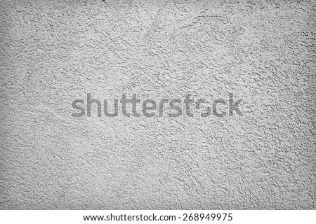 Grey concrete dirty wall texture or background - stock photo