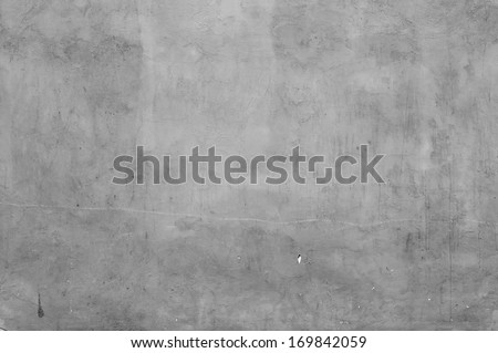 Grey Concrete Texture - stock photo