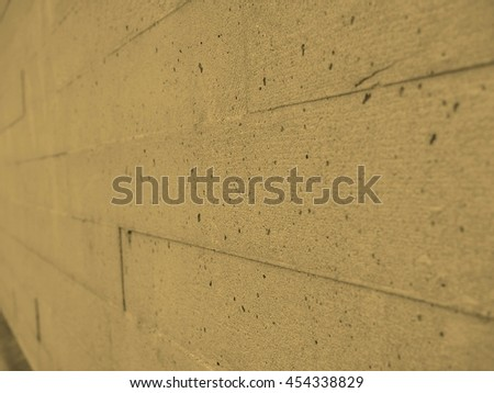 Grey concrete texture useful as a background vintage sepia