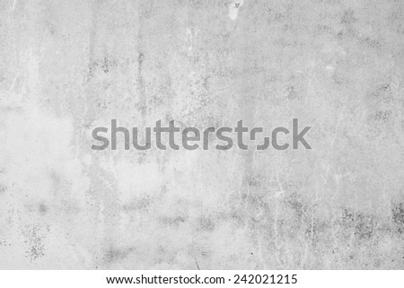 Grey concrete wall - stock photo